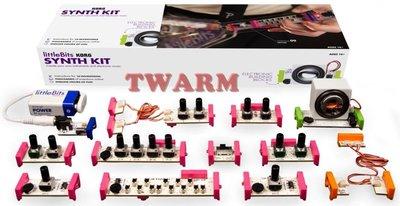 《德源科技》d)(現貨) LittleBits 原廠 Synth Kit 合成套裝 / 12塊模組