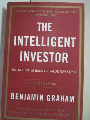 【書寶二手書T1/原文小說_CAP】The Intelligent Investor: A Book of Practical Counsel
