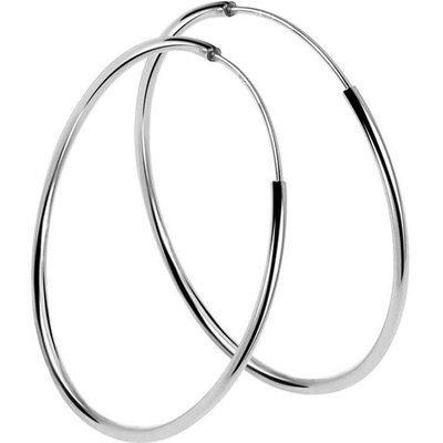純銀耳環氣質大圓圈簡約大氣夸張925銀飾xx11912