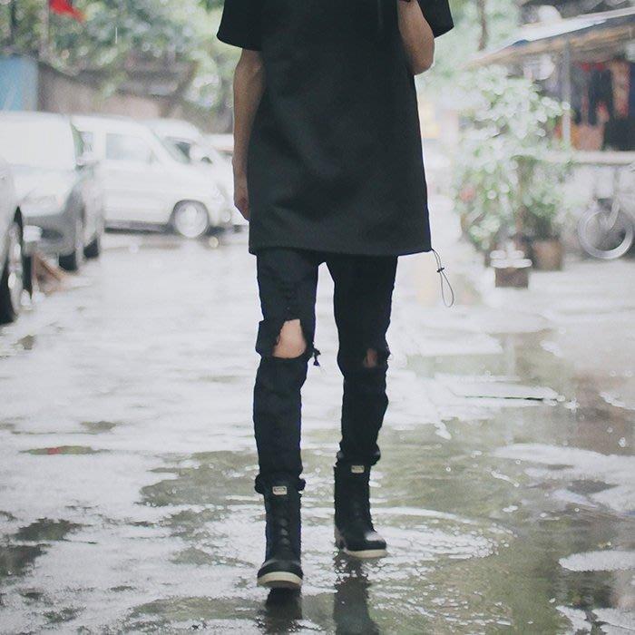 香港潮牌Subtle Mr.Rain X1 防水馬丁雨靴- Rain Boot DK霧黑色 作個與眾不同的自己