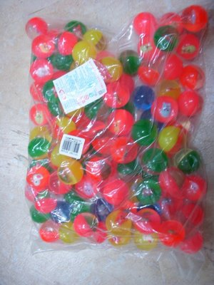 小猴子玩具鋪~~全新直徑3.5公分多款透明水晶款彈力球(一套50顆).特價:260元/套