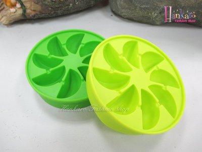 ☆[Hankaro]☆ 涼夏新創意柑橘造型矽膠冰格二件組~(合併批發另洽)