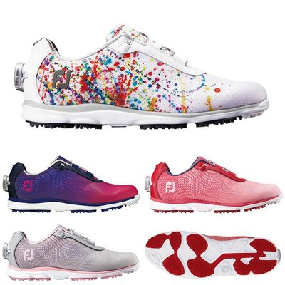 西西小鋪 新款日本代購 FOOTJOY emPOWER Boa透氣舒適軟底女無釘高爾夫球鞋FJ