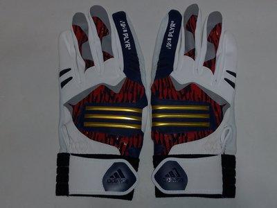 貳拾肆棒球-日本帶回 Adidas profession model 職業契約打擊手套一雙/ Lsize