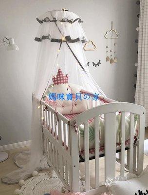 私人定制ins爆款皇冠造型床頭靠墊嬰兒床圍 純棉寶寶床品皇冠靠枕❁媽咪寶貝の家❁現貨❁