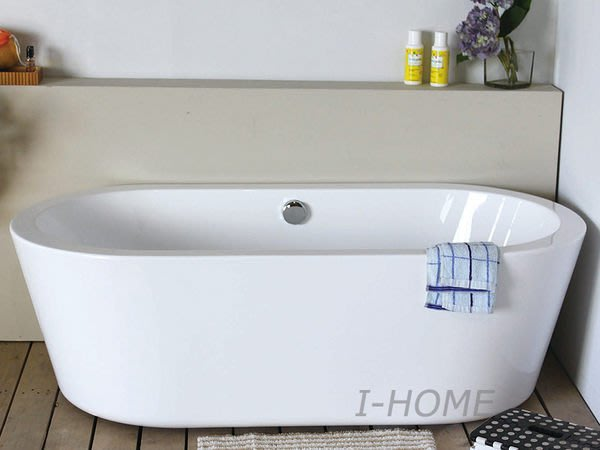 I-HOME 浴缸台製 JF-156E (150~160cm) 獨立浴缸 空缸 浴缸龍頭 需另購