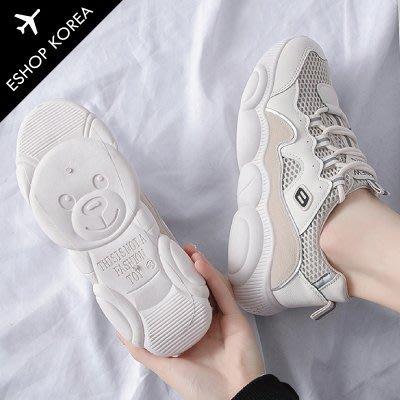 韓國【PIJ905】韓國空運網面透氣小熊老爹鞋