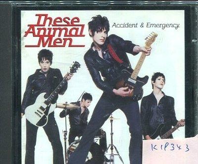 *真音樂* THESE ANIMAL MEN / ACCIDENT & EMERGENCY 二手 K19343