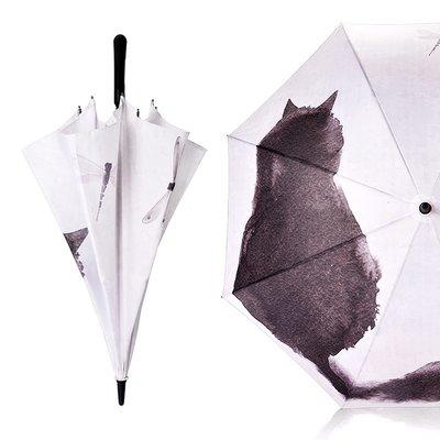 雨傘 自動長柄傘中國風個性創意古風傘復古簡約直柄加固大號雙人雨傘女T 6色