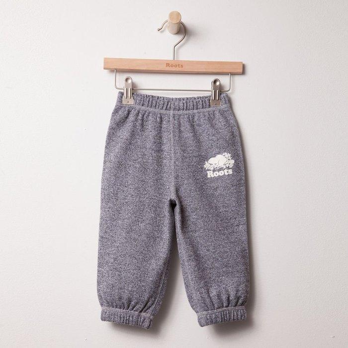 ~☆.•°莎莎~*~☆~~加拿大ROOTS Baby Roots Salt & Pepper™ 寶寶棉褲