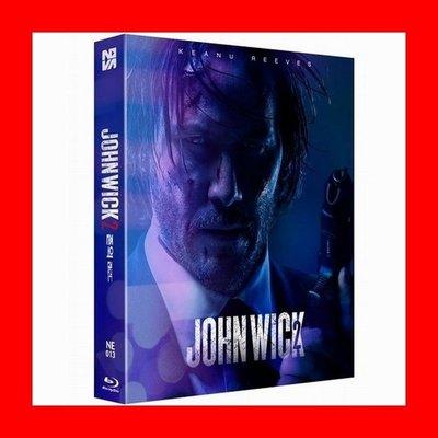 【BD藍光】捍衛任務 2 殺神回歸:外紙盒限量鐵盒版A款(台灣繁中字幕)John Wick 2