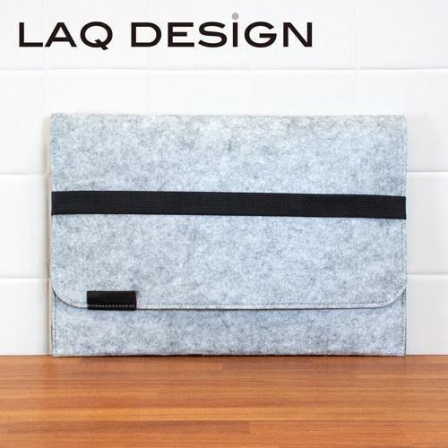文青風環保素材羊毛氈LAQ DESiGN 收納包MacBook 13.3吋 IPAD 12吋 蘋果筆電保護套殼袋電腦內袋