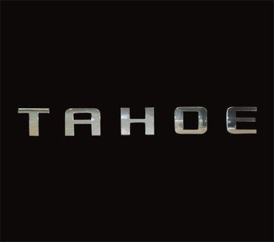 圓夢工廠 Chevrolet 雪佛蘭 Chevy TAHOE 超質感 鍍鉻 尾門 後車箱 車身字貼 字標 車標