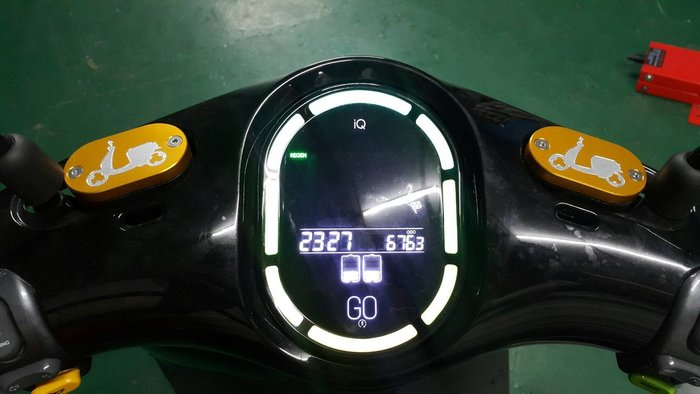 GOGORO 2 CNC 鋁合金材質 油缸蓋/油杯蓋/煞車油蓋