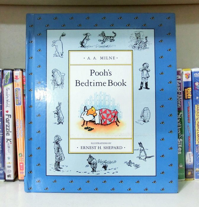 *【兒童英語繪本】*小pen~ 迪士尼維尼小熊繪本~Pooh's bedtime Book