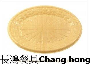 *~ 長鴻餐具~*木紋橢圓盤 辦桌/宴會廳/餐廳/外燴等~069FH03-01-01