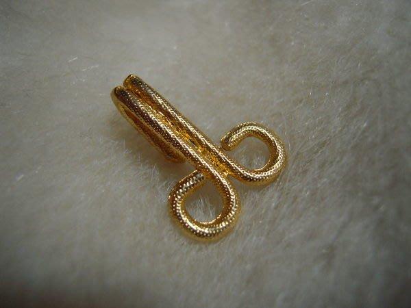 ※布箱子※ 縫紉材料手作配件~玫瑰金大衣.披風扣頭(B551)~25*18mm