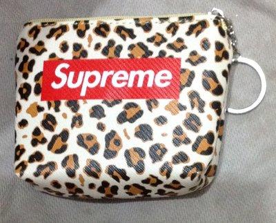 全新潮牌零錢包 supreme收納包 零錢包 硬幣收納包 PU防水零錢包 潮牌短款零錢袋