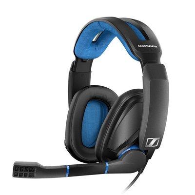 SENNHEISER 森海塞爾 GSP 300 頭戴耳罩密閉式遊戲電競有線耳機麥克風 黑色 公司貨