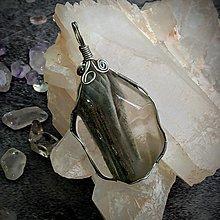千層幽靈水晶手綁吊墜(AE013)