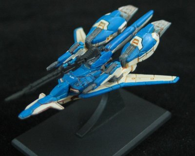 gundam collection sentinel exs z plus A1 sp color WR mode 1/400 blue
