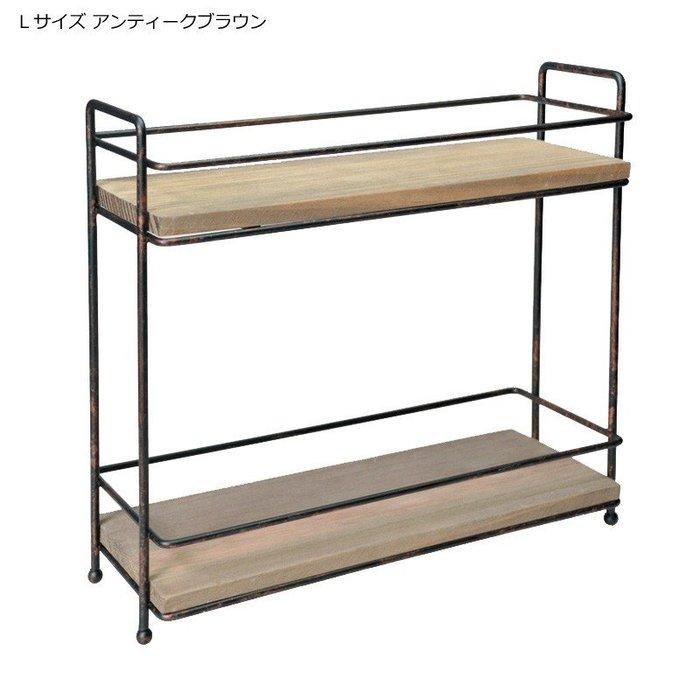 《齊洛瓦鄉村風雜貨》日本zakka雜貨 日本長方形造型收納架 桌上收納架 調味罐收納架 小東西收納架