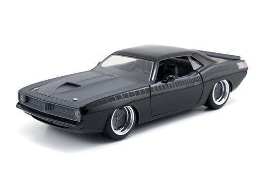 (I LOVE樂多)日本進口 JADA 1/24 letty's plymouth barracuda 玩命關頭 模型車