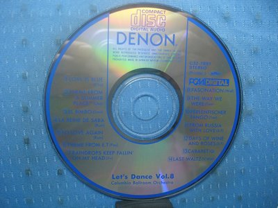 [無殼光碟]IM DENON Let's Dance Vol. 8  無ifpi MADE IN JAPAN