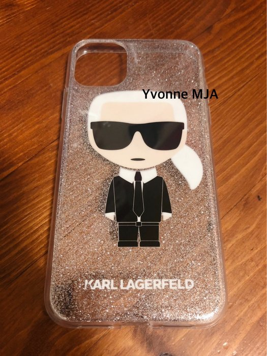 Yvonne MJA卡爾拉格菲爾德預購KARL LAGERFELD卡爾貓老佛爺正版 iphone 11 pro 手機殼
