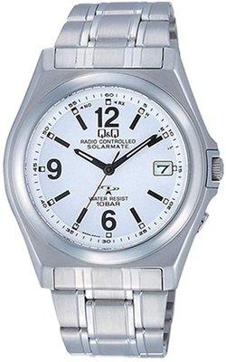 日本正版 CITIZEN 星辰 Q&Q HG08-204 手錶 男錶 電波錶 太陽能充電 日本代購