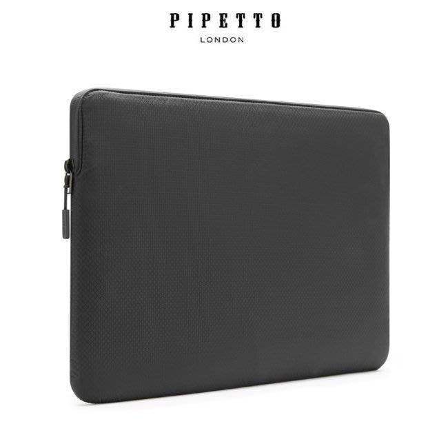 英國 Pipetto MacBook 16/15吋 Ultra Lite Sleeve 鑽石紋防撕裂布電腦包