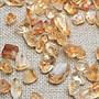 幸運星 天然水晶碎石100g 巴西黃水晶 美甲...