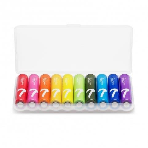 原裝正品小米電池 ZI5彩虹7號電池數碼遙控通用環保乾電池