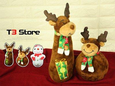【T3】交換禮物 公仔 娃娃 玩偶 聖誕禮物 聖誕節 三款 禮物 可愛 Q版【HL04】