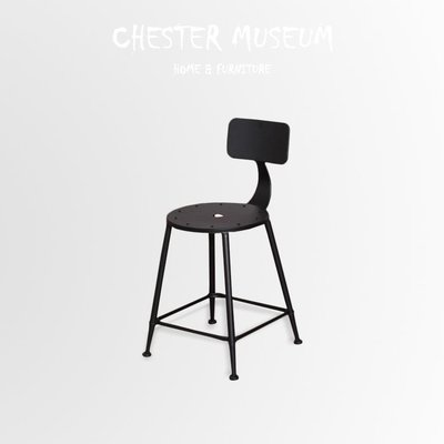 工業風鐵板椅 鐵椅 椅子 鐵板椅 工業...