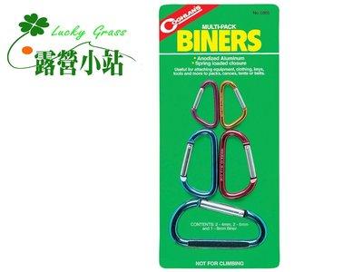露營小站~【0355】Coghlans 小鉤環組 Multi-Pack Biners