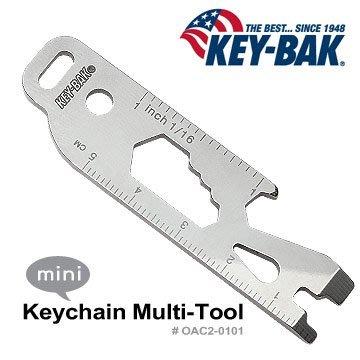 【EMS軍】美國KEY BAK Keychain Multi-Tool 多功能工具(公司貨) #0AC2-0101