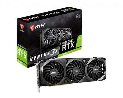 微星MSI GeForce RTX 3080 VENTUS 3X 10G OC