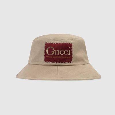 【代購】Gucci Logo 漁夫帽