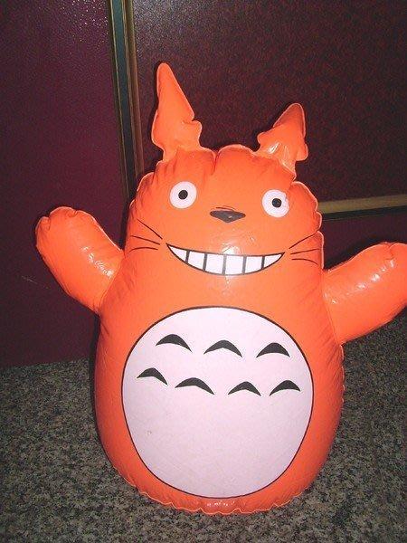 【潮州】─古早味的充氣玩具〈大隻的〉~龍猫〈不倒翁〉