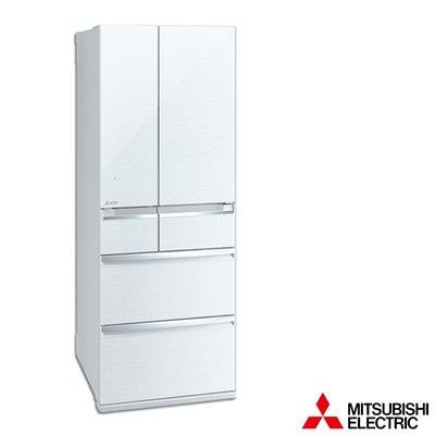 MITSUBISHI三菱 605公升 1級變頻6門電冰箱 MR-WX61C-W-C 日本原裝