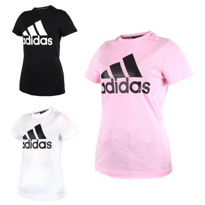 ADIDAS 女短袖T恤(短T 慢跑 路跑 愛迪達【03312949】≡排汗專家≡