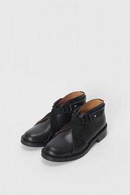 Hender Scheme 18年 新款 綁帶皮鞋 短靴 虧錢售出