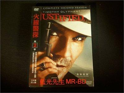 [DVD] - 火線警探 : 第二季 Justified 三碟裝 ( 得利公司貨 )