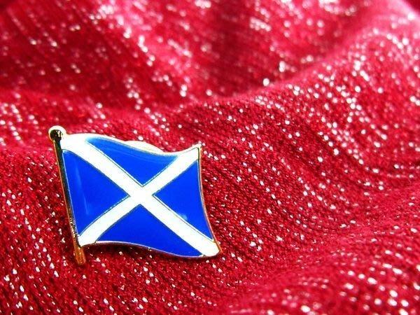 【國旗徽章達人】蘇格蘭國旗徽章/胸章/勳章/別針/胸針/Scotland/超過50國圖案可選
