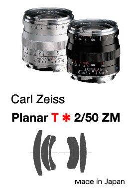@佳鑫相機@(全新品)Zeiss蔡司 ZM Planar T* 50mm F2 (黑) Leica M用 公司貨