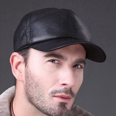 高檔雷射打孔工藝羊皮棒球帽 1007  裸空打孔 運動褲 泳褲 內褲 羊皮帽 牛皮帽