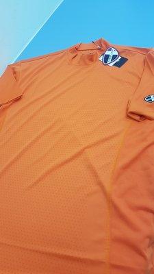 Crestlink Crest link avent crescent golf dri 橘透氣排汗快乾T高爾夫電繡標誌 台北市