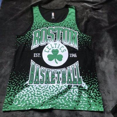 NBA籃球背心 波士頓塞爾提克隊 KEMBA WALKER 籃球運功背心 隊徽LOGO款式 正版
