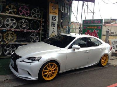 LEXUS 油電車 IS300H 19吋鋁圈 19吋輪胎 SC430 鍛造鋁圈 IS250 輕量化鋁圈 GS450H